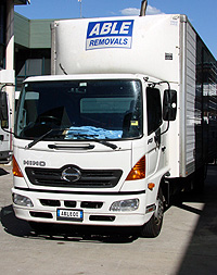 Able Removals and Storage - Removal Truck
